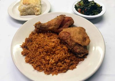 Workmen's Cafe - Fried Chicken and Rice