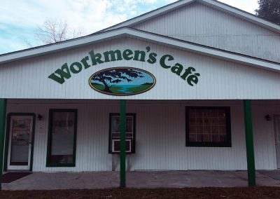 Workmen's Cafe - front exterior - Charleston, SC